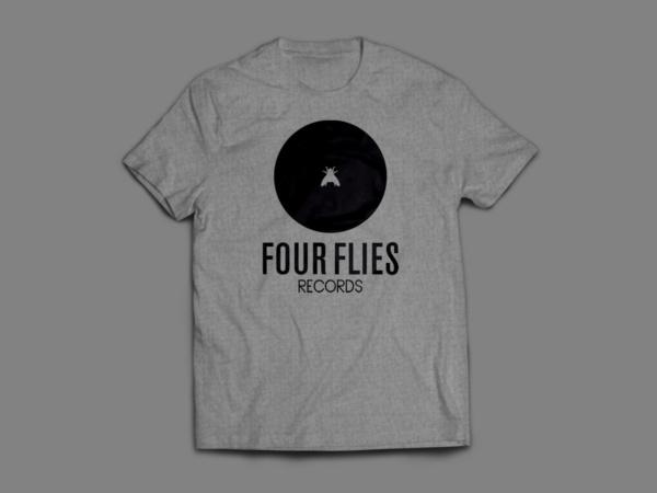 t-shirt four flies records 3