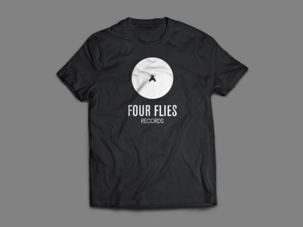 t-shirt four flies records 2