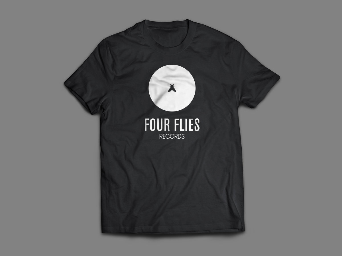 t-shirt four flies records 2