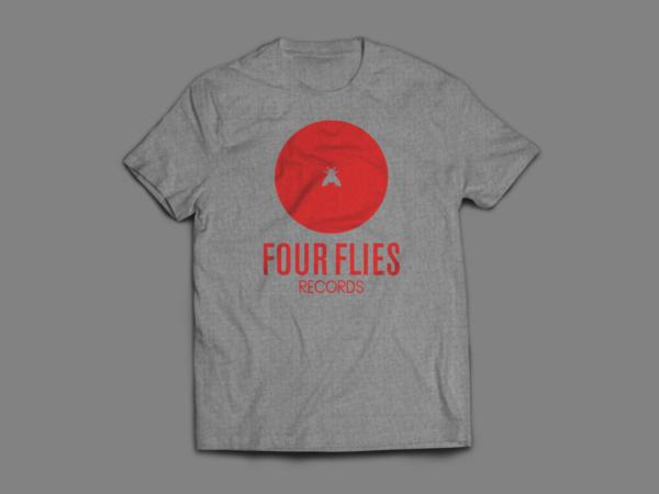 t-shirt four flies records 1