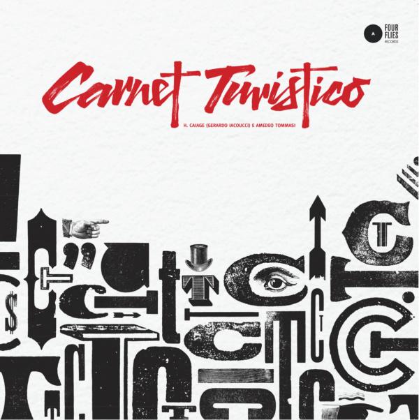 Carnet Turistico Four Flies front