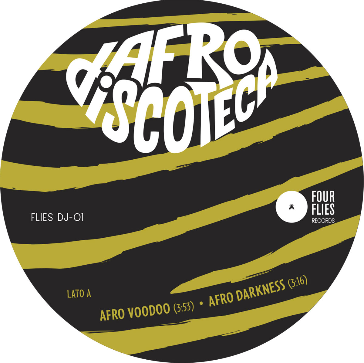 afro discoteca label 1 four flies